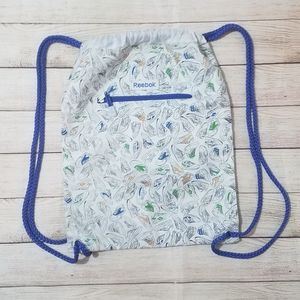 Reebok drawstring backpack